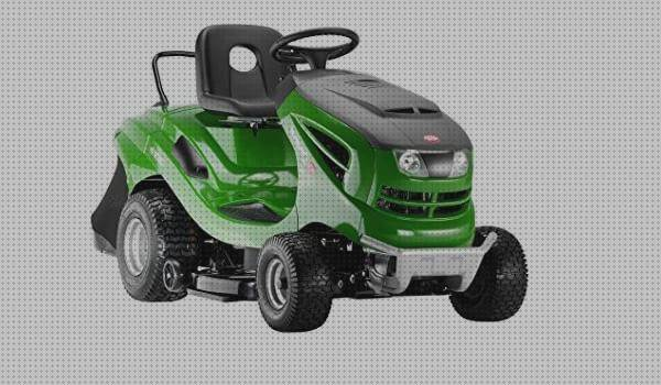 Review de tractor cortacesped green white